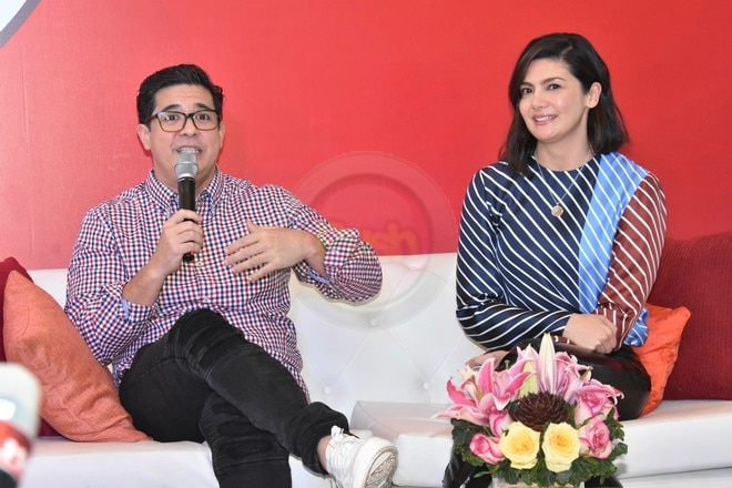 The Muhlach family is back to endorsing one of the famous fast food brands in the country.