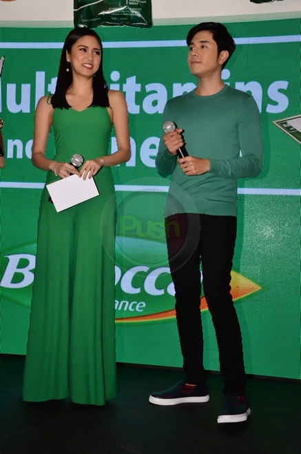 Kim Chiu and Paulo Avelino endorse multivitamins brand