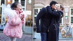 #GOALS: Dingdong Dantes, Marian Rivera, and baby Zia are just picture-perfect on their European vacation