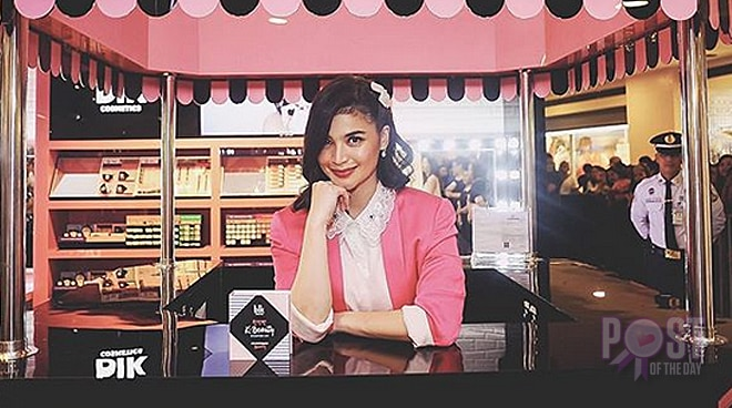 Anne Curtis opens her first cosmetics boutique