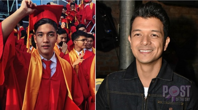 Proud dad moment: Jericho Rosales' son graduates from high school