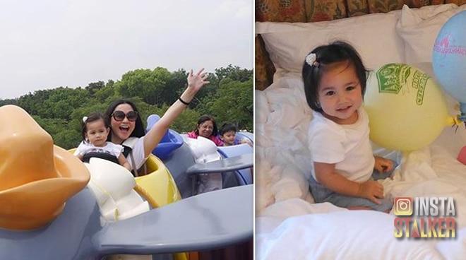 Isabella Padilla enjoys first trip to Disneyland