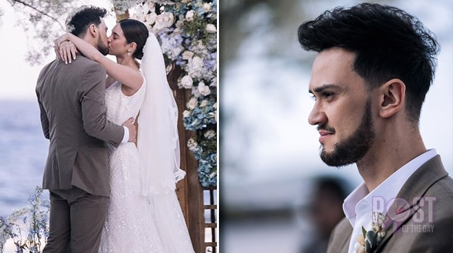 LOOK: Billy Crawford turns emotional on his wedding day
