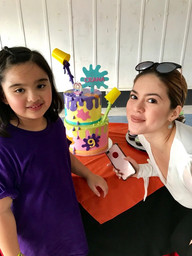 Vina Morales' daughter Ceana recently turned 9 years old.