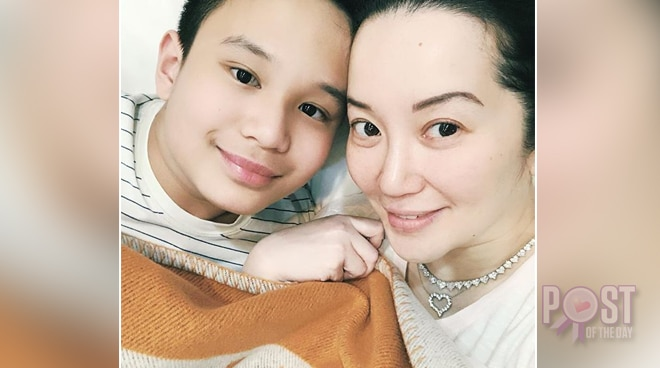 Kris Aquino defends son Bimby from bashers