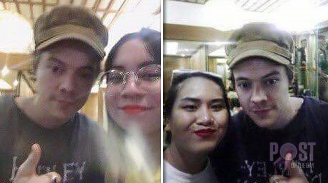 Harry Styles spotted in BGC, lucky fans take selfies