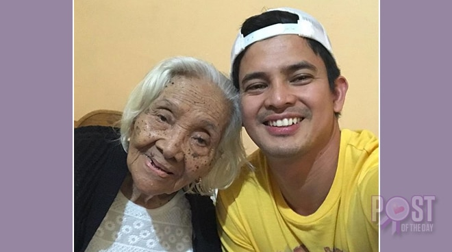 Jason Abalos shares his sweetest moments with his sick grandmother
