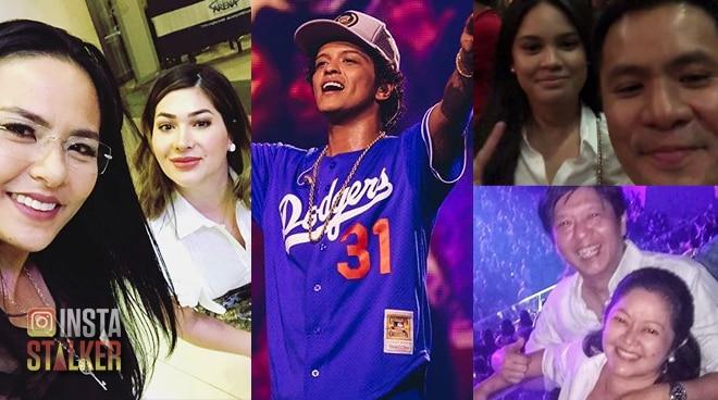 LOOK: Celebrities jam to Bruno Mars's hit songs on his 24K Magic World Tour