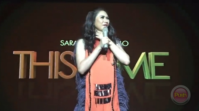 Sarah Geronimo explains why she had an emotional breakdown during her Las Vegas concert