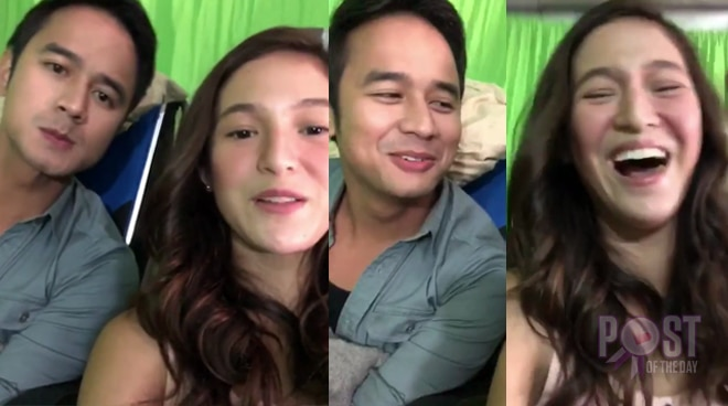 WATCH: JM de Guzman and Barbie Imperial's bonding moment off-cam will make you LOL