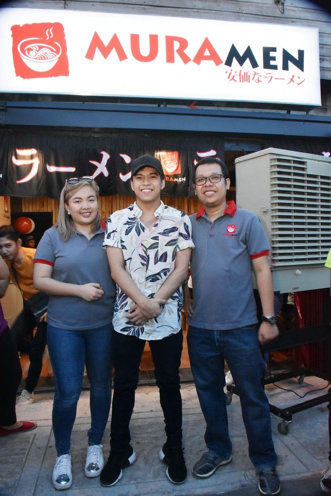 Nash Aguas opens second branch of ramen restaurant in Pasig.