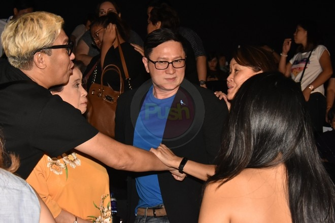 The main cast of My 2 Mommies attend the movie's premiere night last May 7.