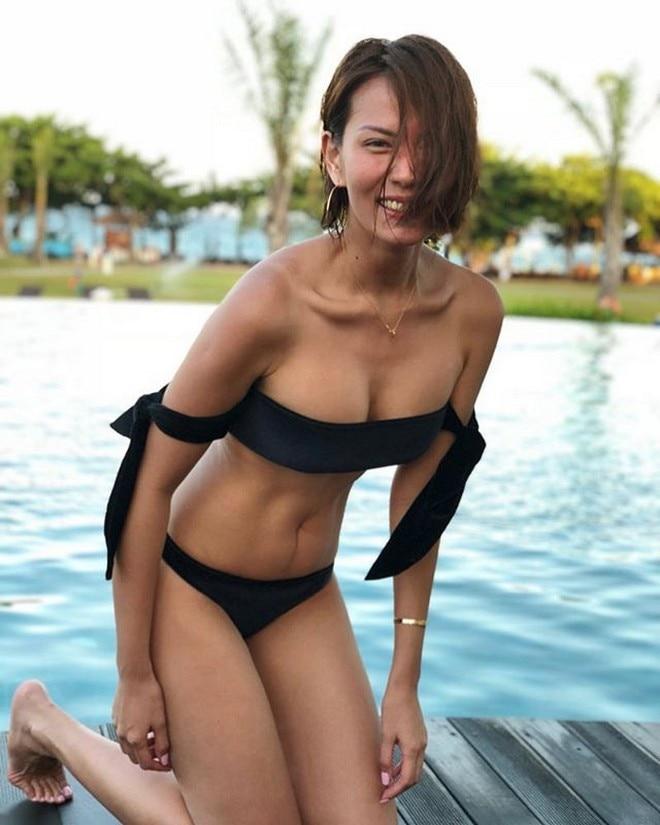 Bianca Manalo is enjoying in Bali, Indonesia.