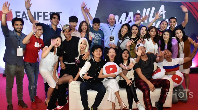YouTubers, together for YouTube Fan Fest
