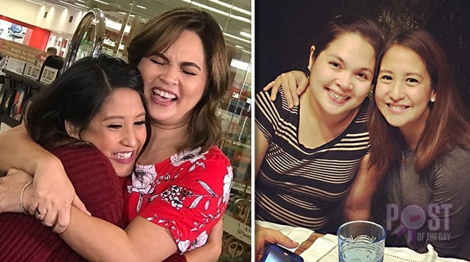 LOOK: Judy Ann Santos and Jolina Magdangal have a special reunion