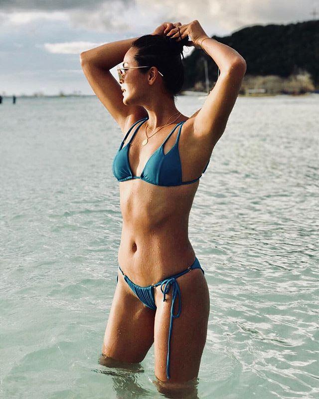 Maxene Medina says she misses the Boracay sunset