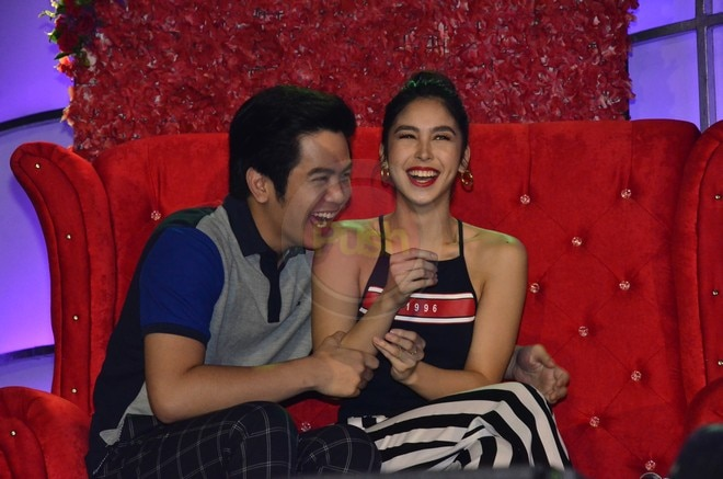 Joshua Garcia & Julia Barretto had a great time with their fans at the Just Love Araw Araw fan meet