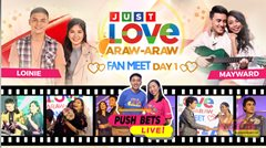 PUSH Bets Live: Just Love Araw-Araw Fan Meet Day 1