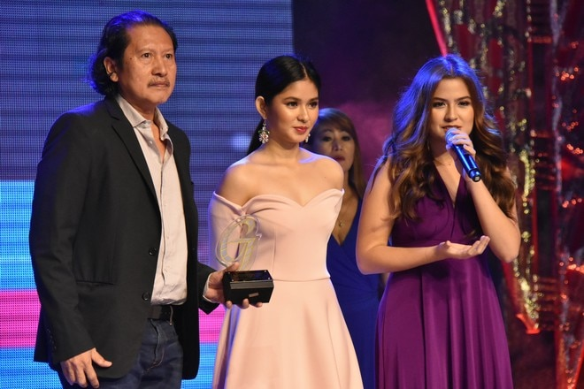 Celebrities were all glammed up as they attended the 49th Guillermo Mendoza Foundation Awards Night.