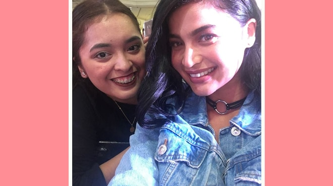 Fan thanks Anne Curtis for helping her finish college