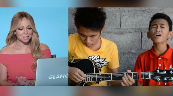 Pinoy duo Aldrich and James wow Mariah Carey with their 'Hero' rendition