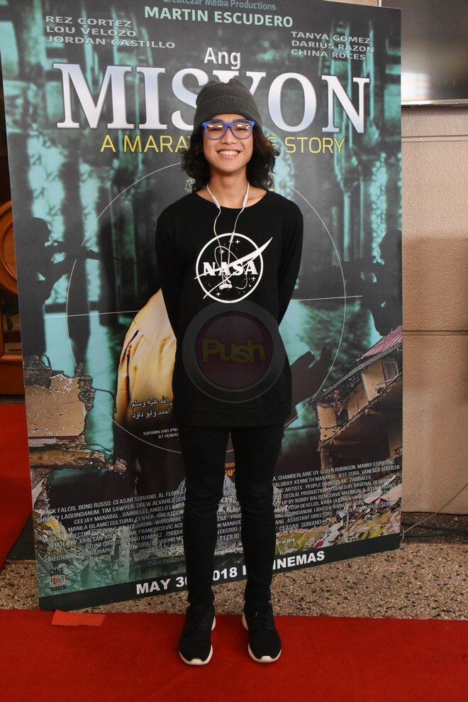 Ang Misyon, which stars Martin Escudero, had a special screening at the ABS-CBN Dolphy Theater