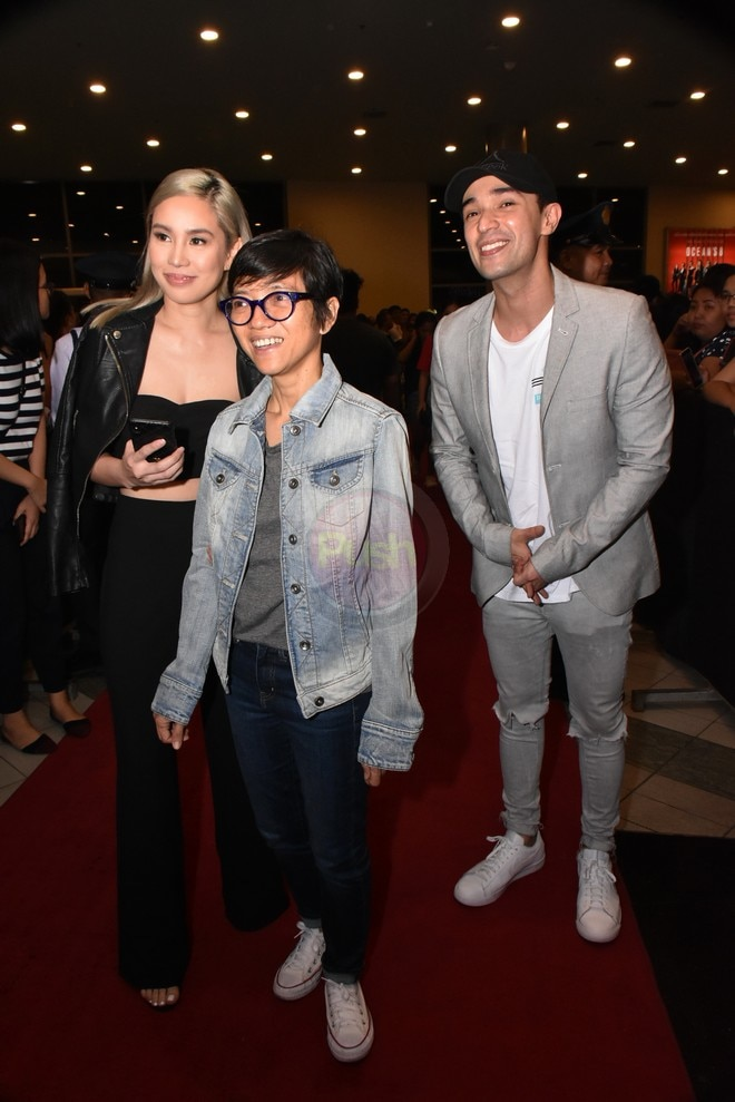Vice Ganda, Angel Locsin, Marian Rivera & more celebs at the Anne-Dingdong movie premiere Sid & Aya.
