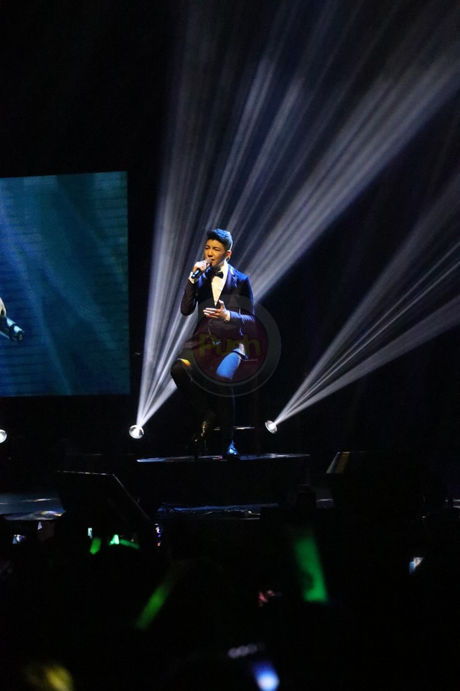 Darren Espanto was unstoppable at his birthday concert last May 26 at the Kia Theater.
