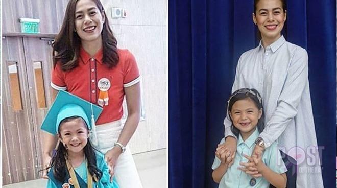 Wow! Bettina Carlos' daughter Amanda achieved a 98.62% general average in school