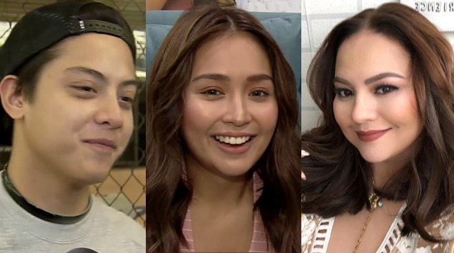 Kathryn Bernardo reacts to Karla Estrada's wish for son Daniel Padilla to get married in his 30s