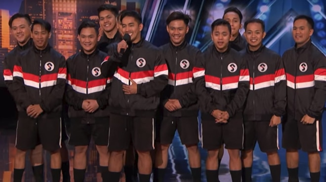 PH dance group Junior New System wows America's Got Talent judges with performance in high heels