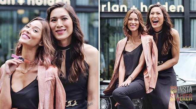 Joey Mead and Angie King launch collaboration with local makeup line