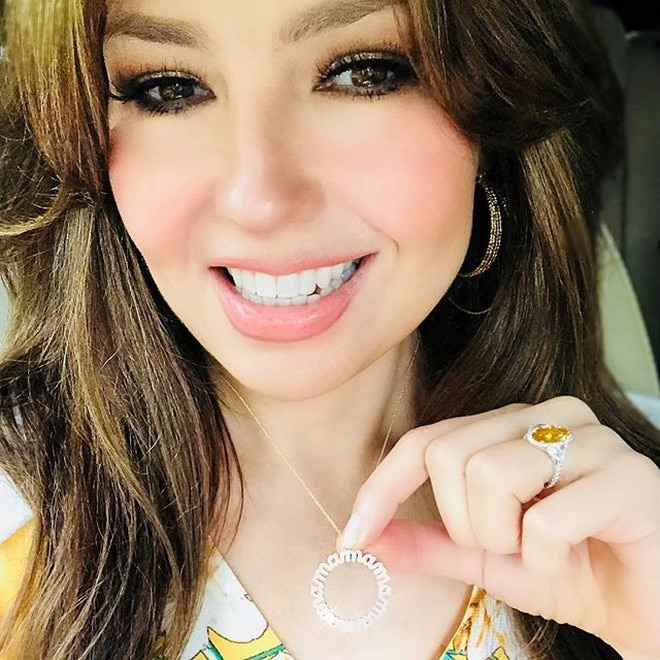 Image courtesy: @thalia on Instagram