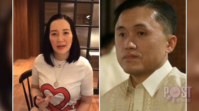 Bong Go to Kris Aquino: 'We are sorry for the incident'