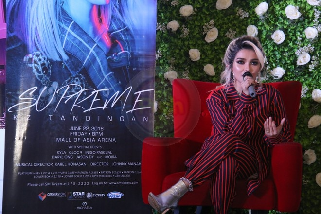 KZ proudly shares her 'Supreme' concert at the MOA Arena on June 22