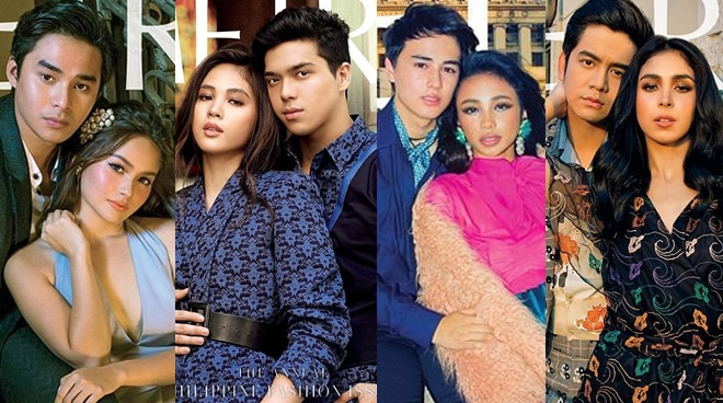 Love fills the month of June as Metro Magazine features Kapamilya love teams