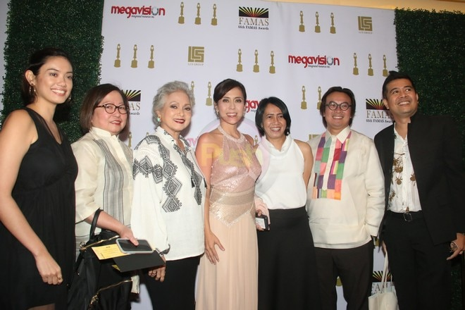 Celebrities flocked to the 2018 Famas Awards Night to honor the best in Philippine Cinema