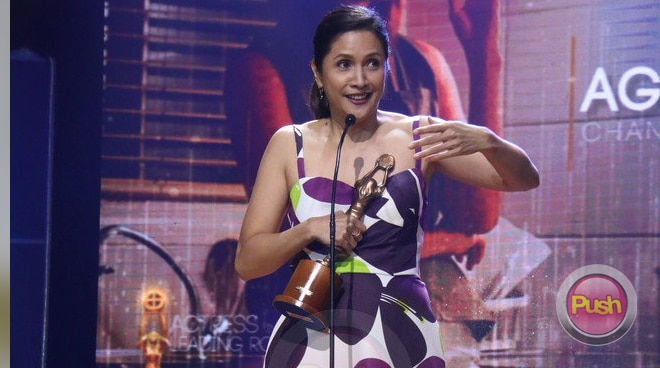 Agot Isidro wins Best Actress at FAMAS 2018