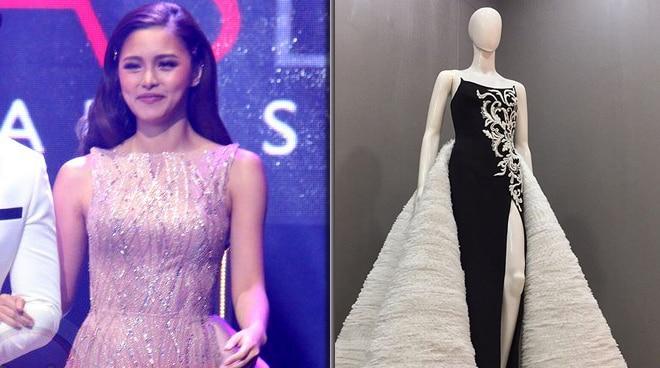 Kim Chiu's stylist Patty Yap issues statement regarding John Herrera gown
