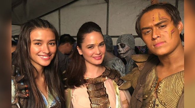 This photo of Kristine Hermosa and LizQuen is the most beautiful picture you will see today