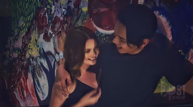 LOOK: Angelica Panganiban's photo with Carlo Aquino are driving CarGel shippers crazy