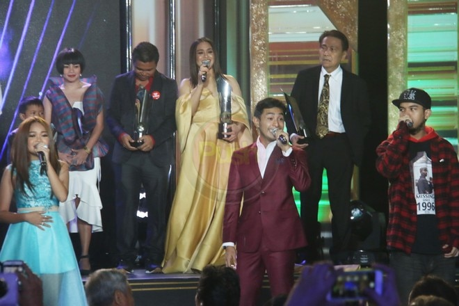 ICYMI, here are the celebrities who were present at the 2018 Gawad Urian awards night.