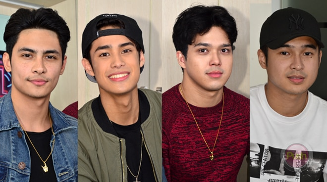 Jerome Ponce, Elmo Magalona, Kiko Estrada agree on this one thing about Donny Pangilinan