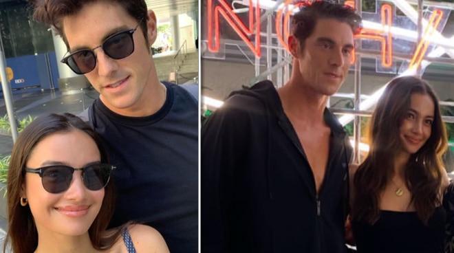 Kelsey Merritt and Olympian boyfriend Conor Dwyer enjoy the Philippines