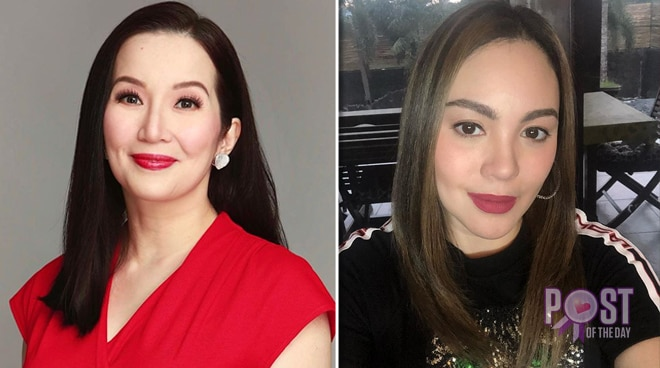 Kris Aquino clarifies she is still friends with Claudine Barretto despite unfollowing her on Instagram