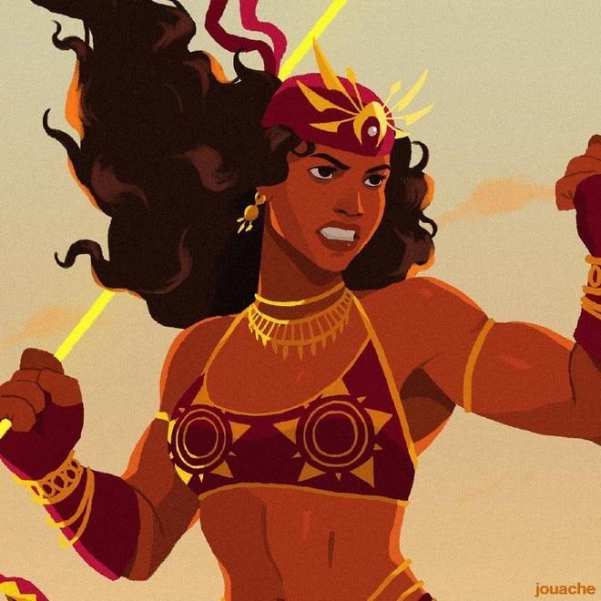 """Princess Urduja-inspired"" by Jouache Panaligan"