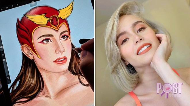 LOOK: Artist reimagines Jessy Mendiola as Darna, actress responds