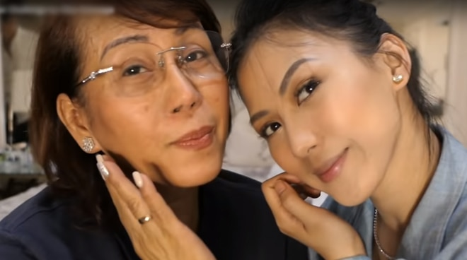 WATCH: Mommy Pinty hilariously does the 'Dalagang Pilipina' challenge with Alex Gonzaga