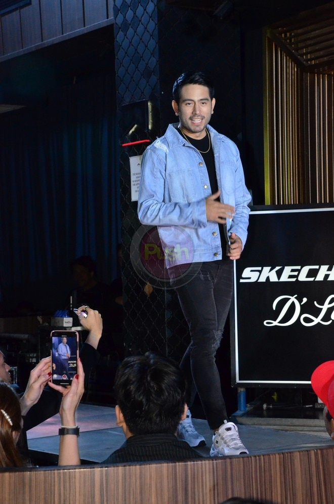 Nadine Lustre and Gerald Anderson for Skechers D'Lites X Bang.