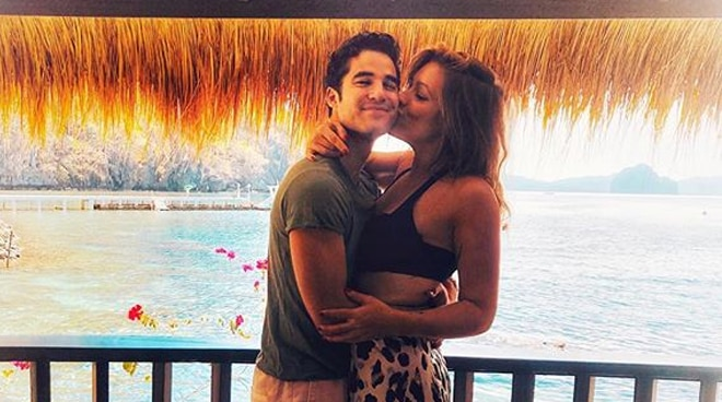 Fil-Am actor Darren Criss takes wife to El, Nido Palawan